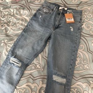 Reformation Jeans - Reformation high & skinny jeans size 24 brand new